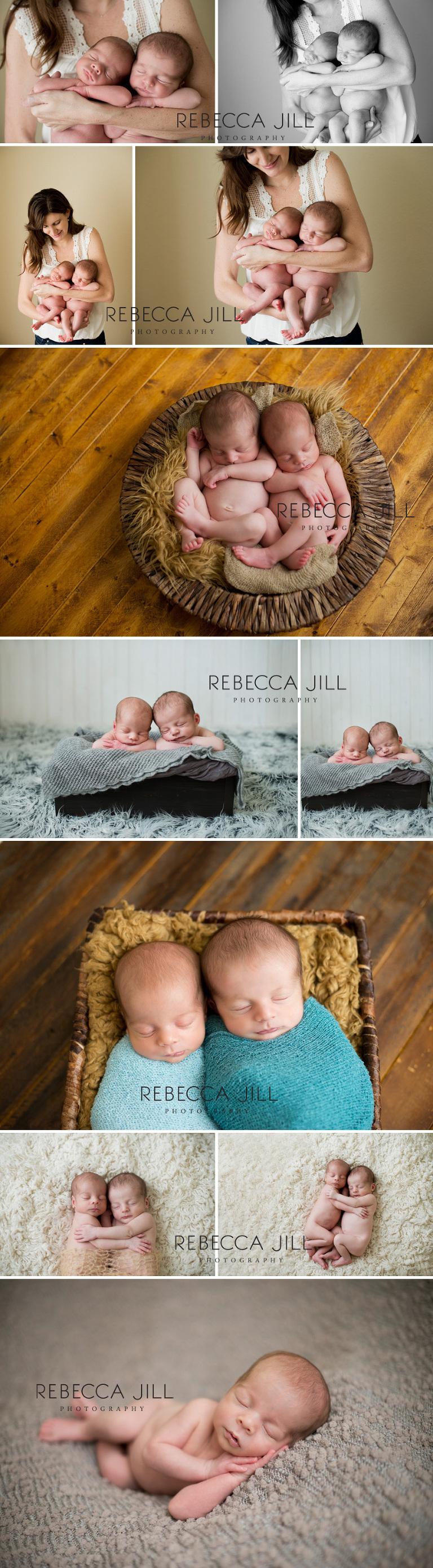 orlando, fl newborn twin photographer