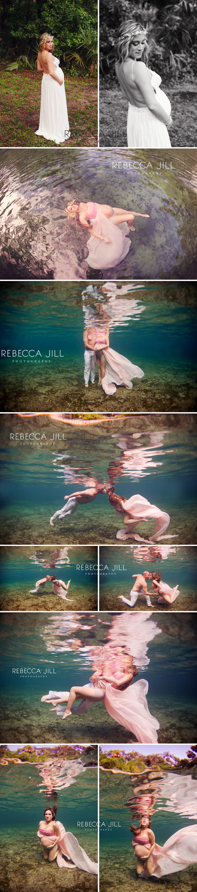 Central Florida Underwater Maternity Photographer